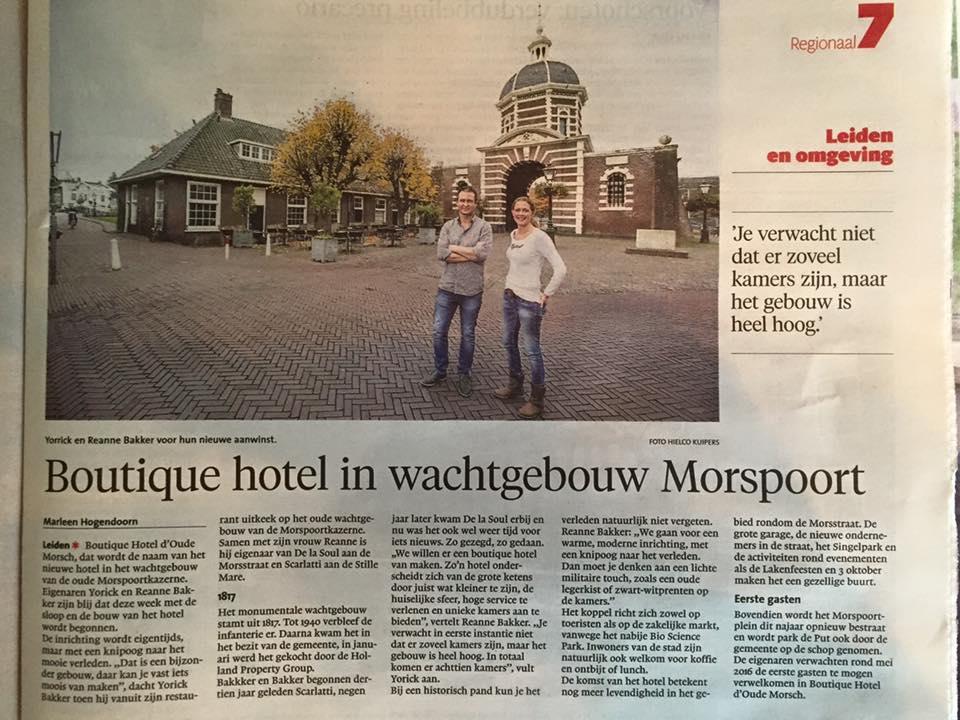 Mors_hotel_in_de_krant